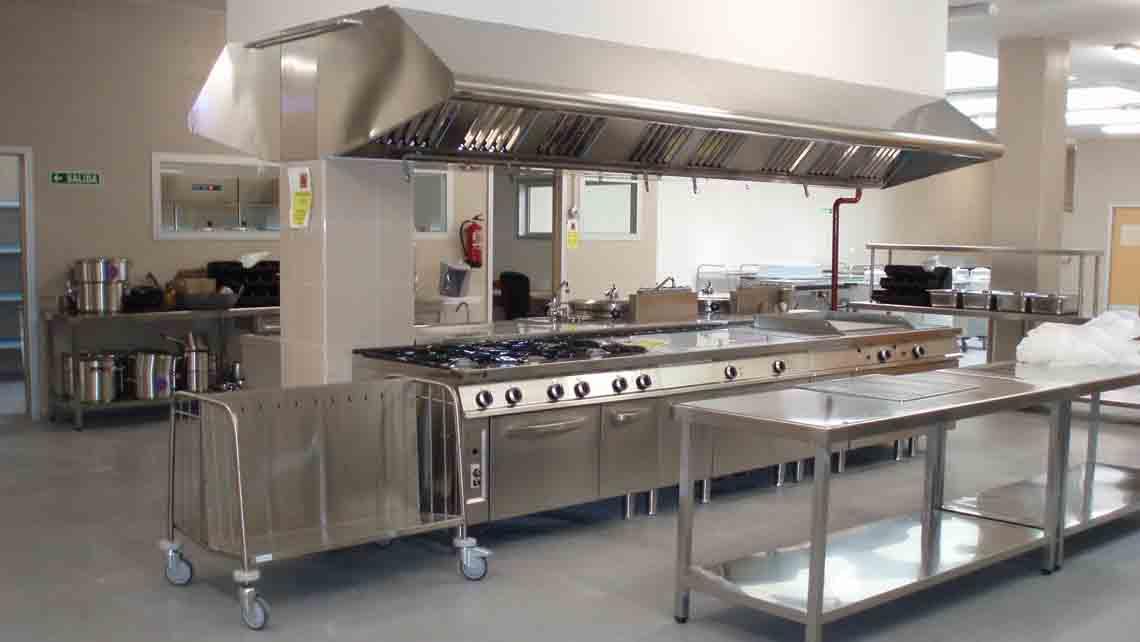 Proyectos y diseños de cocinas industriales