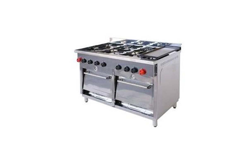 Cocina 6 platos con horno y churrasquera - Cocina con horno ...